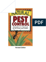 Natural and Organic Pest Control