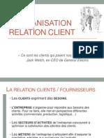 L'organisation relation client