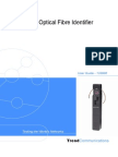 Optical Fibre Identifier User Guide English Iss 1