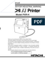 PXR-H Instruction Manual