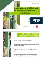 SocieteForestiere-financement de la biodiversité par des mécanismes de marché