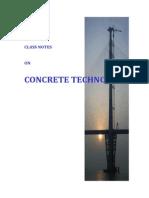 Class Note - Concrete (Moddified 10-01-2069)