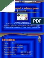 Kardiomegali + Edema Paru Radiologi