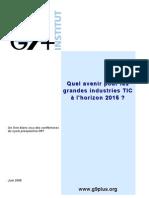 Livre Blanc 2009 de l'Institut G9+