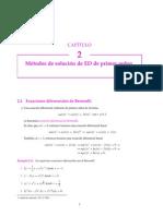 2.4 Ecuaciones Diferenciales de Bernoulli