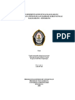 Kajian Sedimentasi Sungai Kaligarang