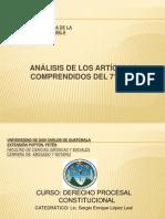 ANÁLISIS ARTÍC. CPRG.  DEL 71 AL 139