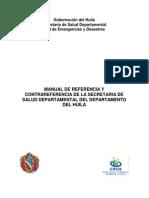 Manual de Referencia y Contrarreferencia Ssdh