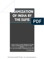 Islamisation of India by Sufis