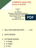 IGCAR FEM , syllabus