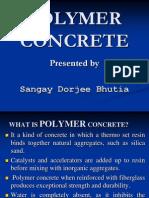 Polymer Concrete by Sangay