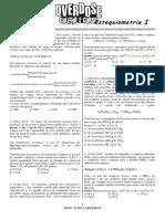 Lista - estequiometria básica