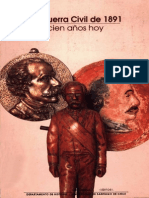 Luis Ortega Guerra Civil de 1891 100 Anos Hoy