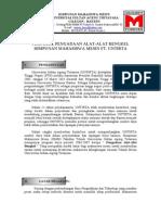 Drap Proposal Pengadaan Alat-Alat Bengkel