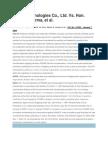 Korea Technologies Co Case Alternative dispute resolution