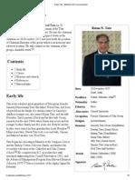 Ratan Tata - Wikipedia, The Free Encyclopedia