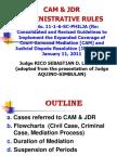 Liwanag Cam & Jdr Rules for Jdr