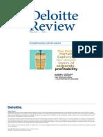 D&T - The Profit Parfait - Sustainable Comp Adv - 2013