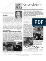EPSA Newsletter Fall09