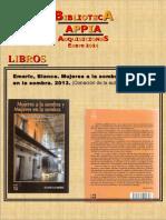 Biblioteca APPIA - Adquisiciones Ene 2014