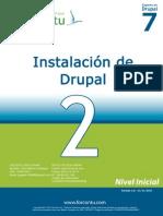 Forcontu - Experto en Drupal 7 - Unidad 2 - Instalación de Drupal