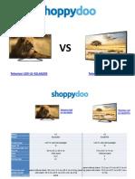Comparador de Precios Televisores Led