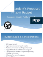 FY 2015 Supers Proposed Budget - Final