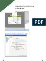 Webdesign From Mock-Up