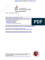 ancer-associated thrombosised Thrombosis
