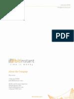BitInstant Company Presentation