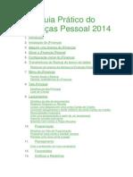 Guia Prático do jFinanças Pessoal 2014