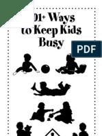 101 Kids Busy