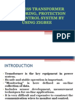 Wireless Transformer Monitoring