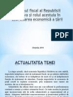 Sistemul fiscal al Republicii Moldova și rolul acestuia