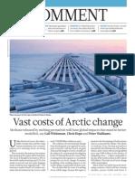 Vast Costs of Arctic Change