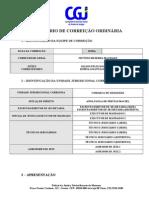 MODELO DE RELATÓRIO DE CORREIÇÃO ORDINÁRIA