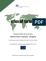 EIDHR Atlas de La Tortura Paraguay Informe Final 2013