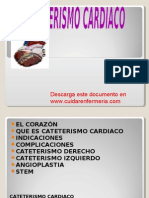 Cateterismo Cardiaco, Www.cuidarenfermeria.com