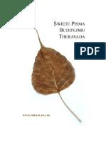 Święte Pisma Buddyzmu Theravada