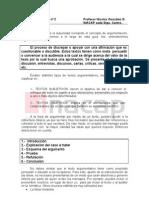 Guía de aprendizaje nº 2, ARGUMENTACIÓN