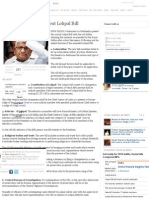 All You Want to Know About Lokpal Bill - The Times of India