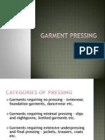 Garment Pressing