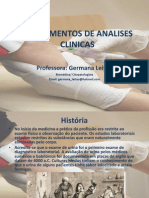 Fundamentos de Analises Clinicas