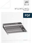 Peavey-Pv20-Compact Mixer Owners Manual