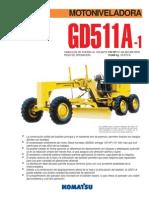 Komatsu GD511A 1