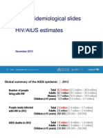 Aids Data - Who 2014