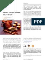 Learn Hanyu Pinyin in 24 Days