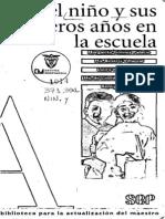 113650876 El Nino y Sus Primeros Anos en La Escuela Margarita Gomez Palacio