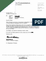 9-23-09 TWC Decision letter on 2001 case