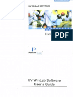 MANUAL UV Winlab Software